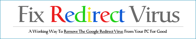 Redirect Virus Fix